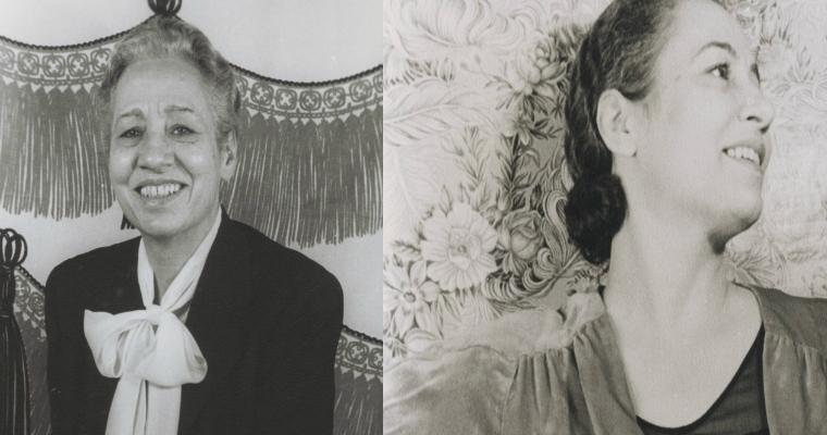 Edna Thomas and Olivia Wyndham