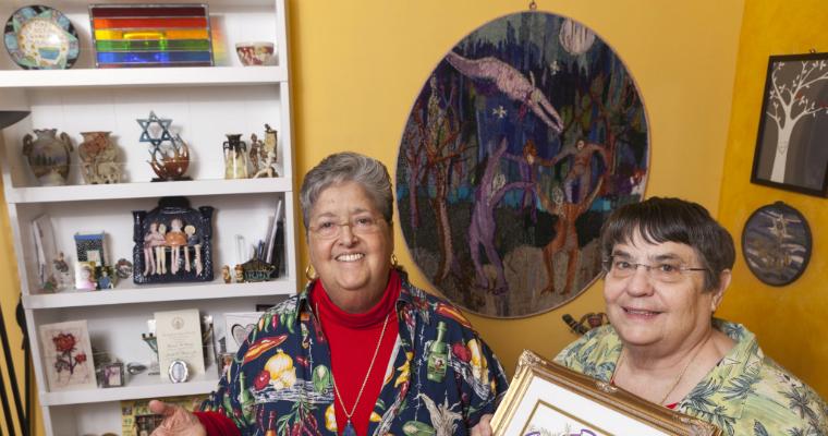 Mina Meyer and Sharon Raphael