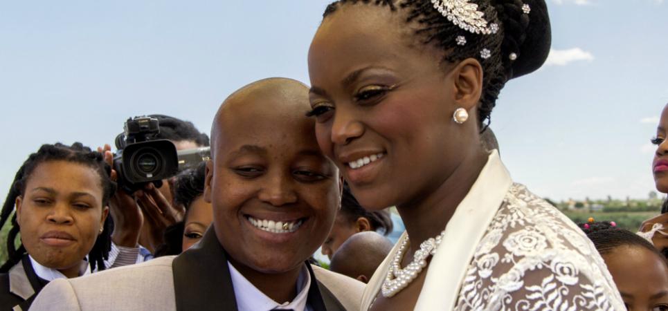 Zanele Muholi image - No LGBT rights