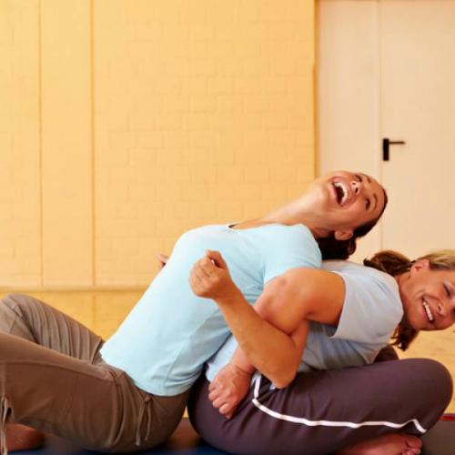 Gay and lesbian partner yoga