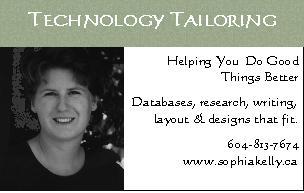 Sophia Kelly Technology Tailoring