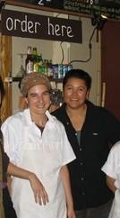 Lisa and Vinetta at Rhizome