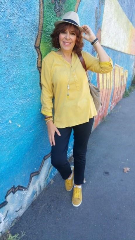 mode - femme - rentrée- bleu bonheur