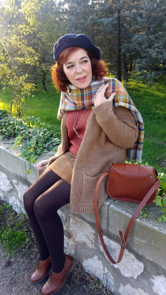 écharpe - pashima - cachemire- tartan - oversize - mode femme
