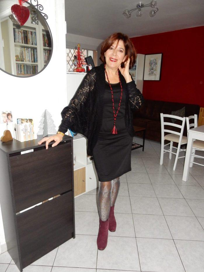 bleu bonheur - mode -femme - quinqua - blogueuses