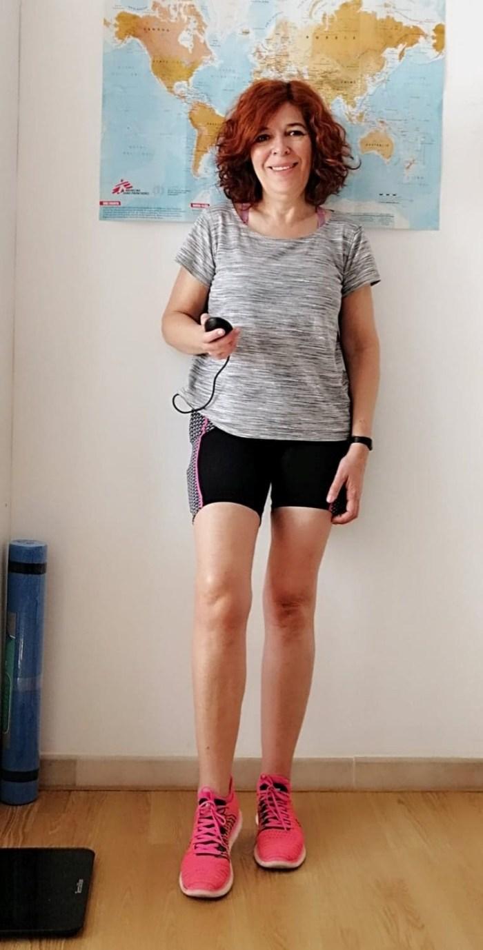 defi - forme - short - slendertone- fitness - bien être- santé - équilibre