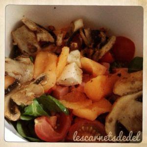 salade champignon