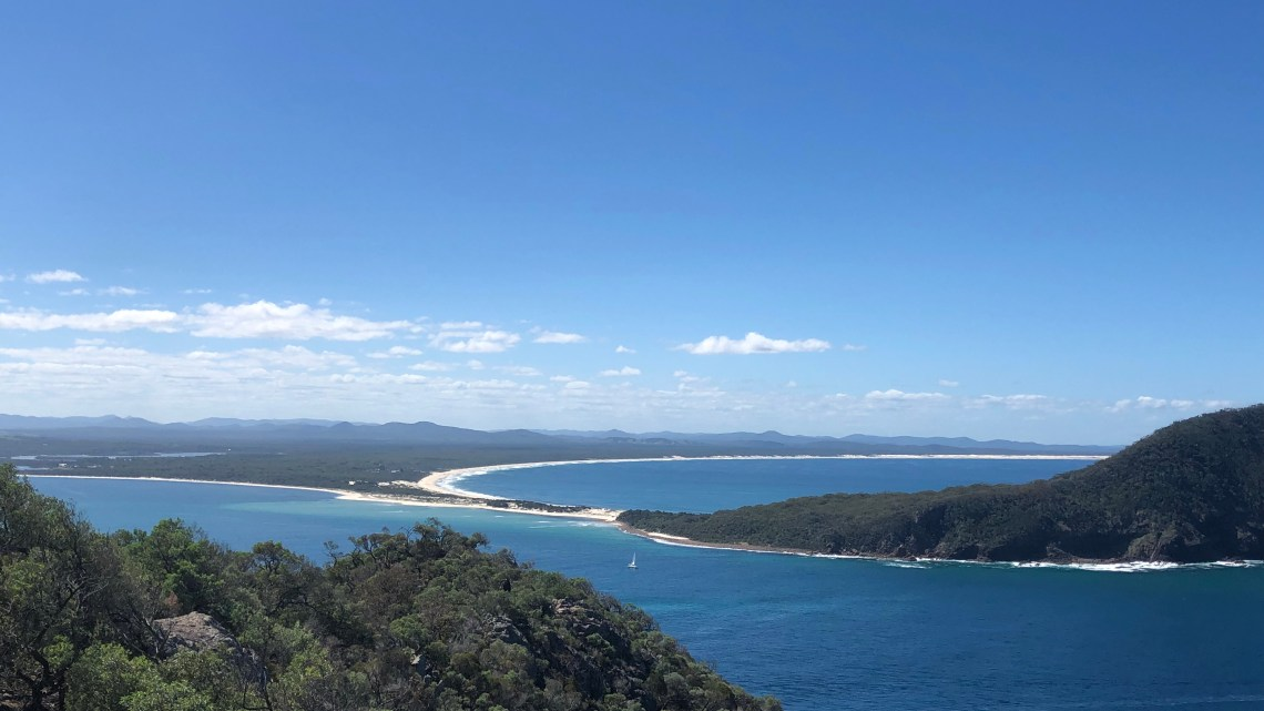 Une journée à Port Stephens : kangourous, sand boarding, dolphins, trail and beach
