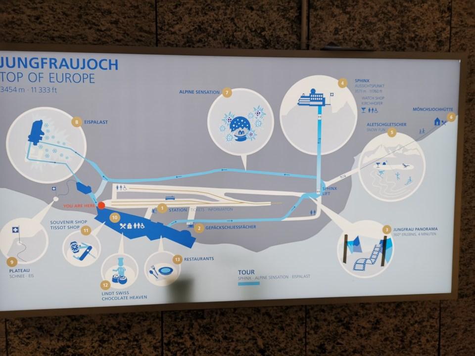 Jungfraujoch, le toit de l'Europe