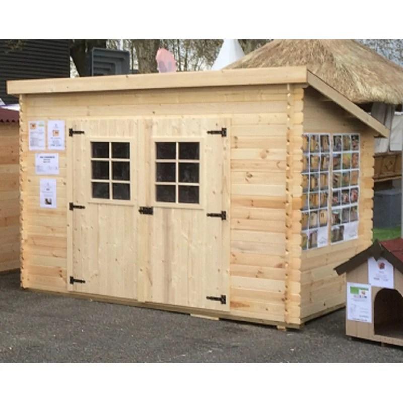 cabane de jardin 3x1 9m 20mm
