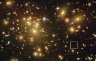 """Una galassia primordiale già """"matura"""" e ricca di polveri"""