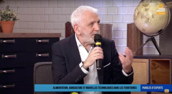 """""""Le numérique est un formidable moyen à condition de le maîtriser et de le contrôler"""" Frédéric Lafforgue, VP Montpellier Méditerranée Métropole"""