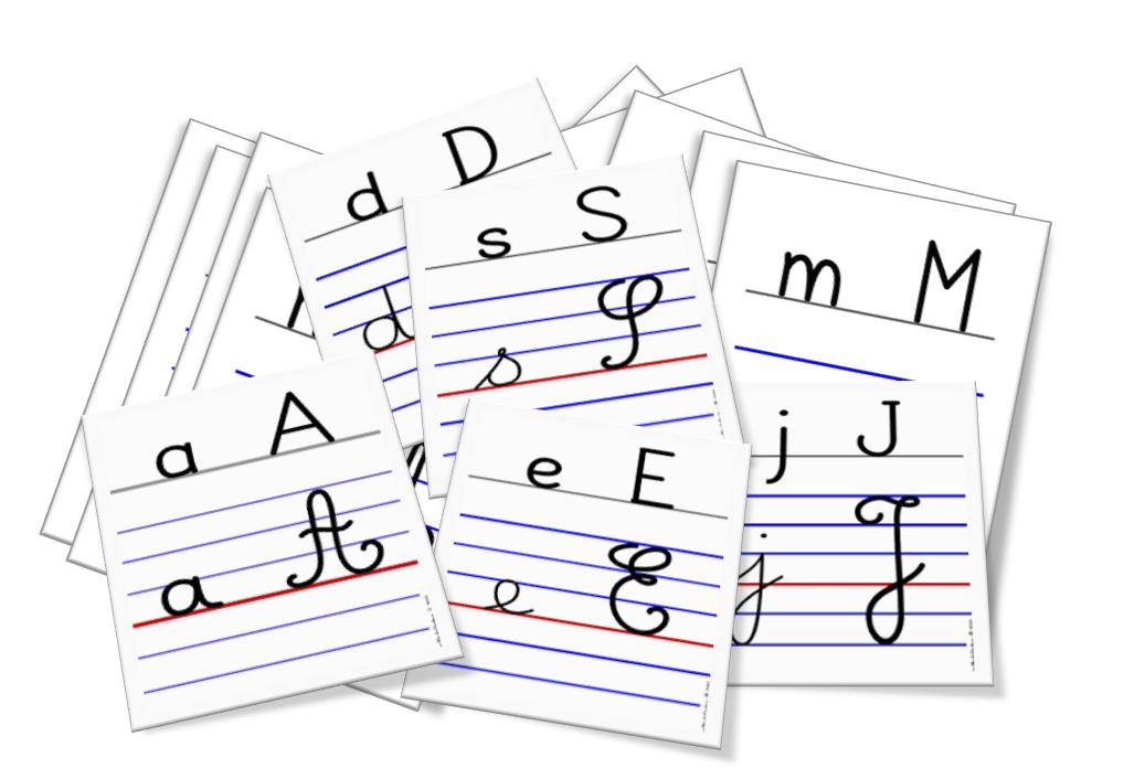 Alphabet Mural à Télécharger Les Clés De L écriture
