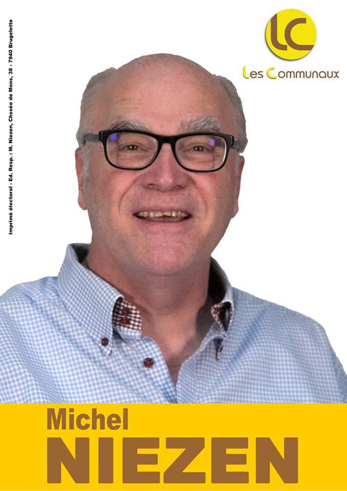 Michel Niezen - Conseiller communal à Brugelette