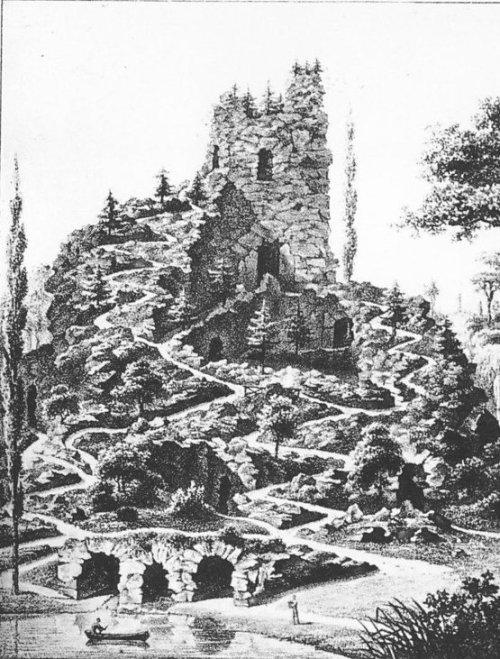 Le rocher d'Attre - imposant