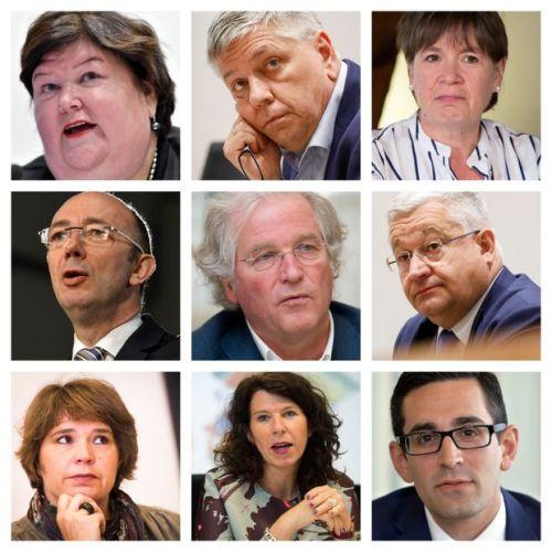 9 ministres de la santé en Belgique