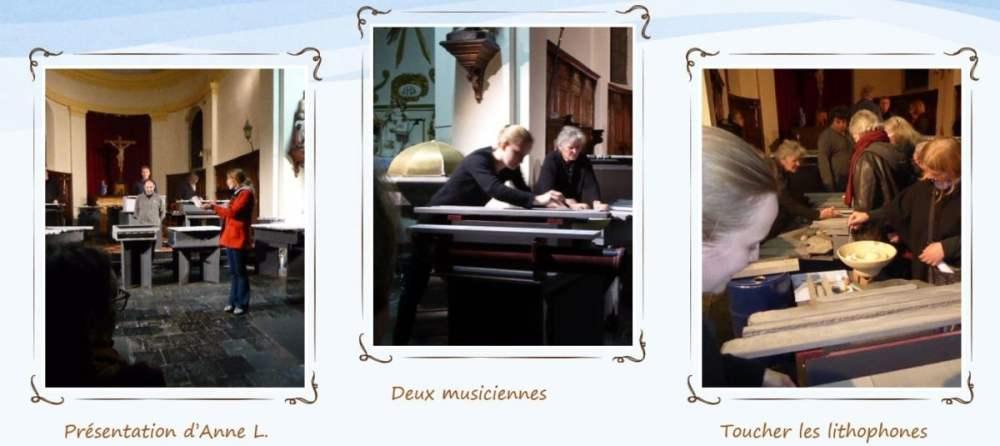 Le concert litho - Explication des musiciennes