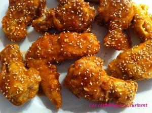 Poulet frit à la coréenne