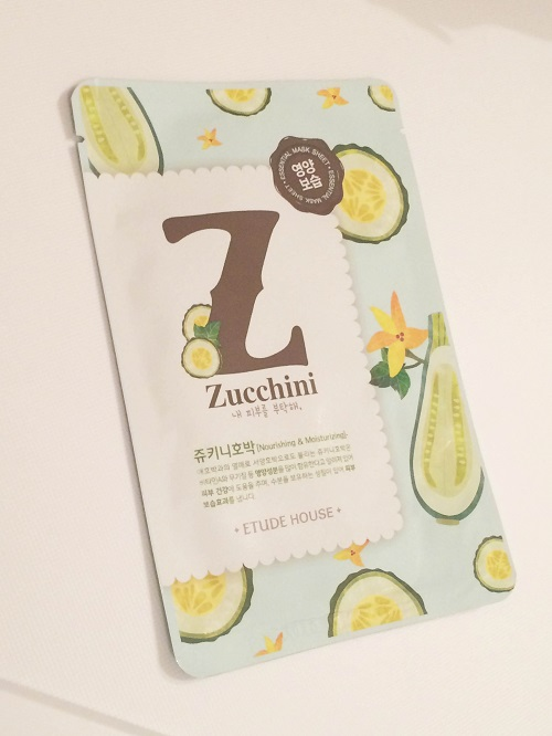 masque courgette etude house