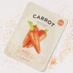 masque a la carotte it's skin