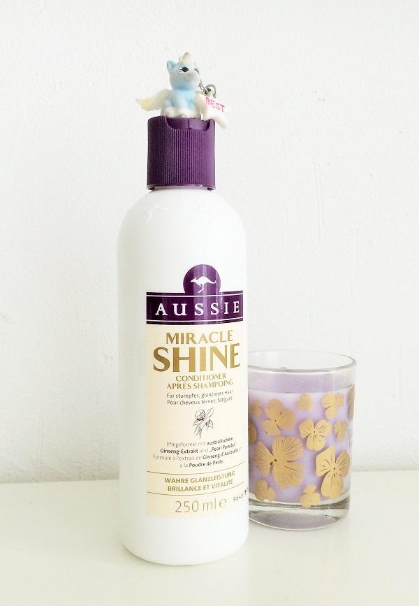 aussie miracle shine apres shampoing