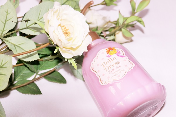 belle dress body lotion etude house