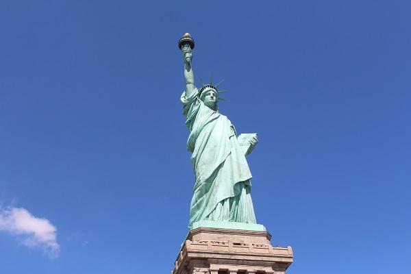 New York voyage statue de la liberté