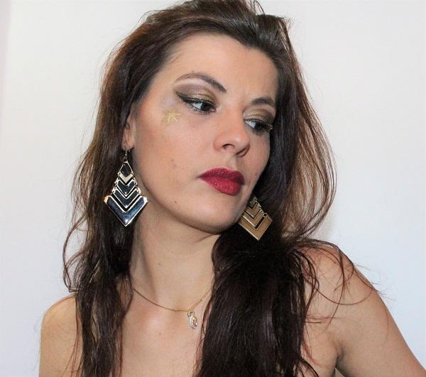maquillage doré MSC