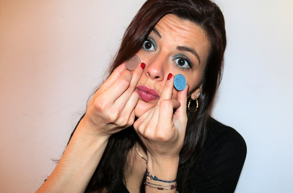 maquillage bleu glacier monday shadow challenge