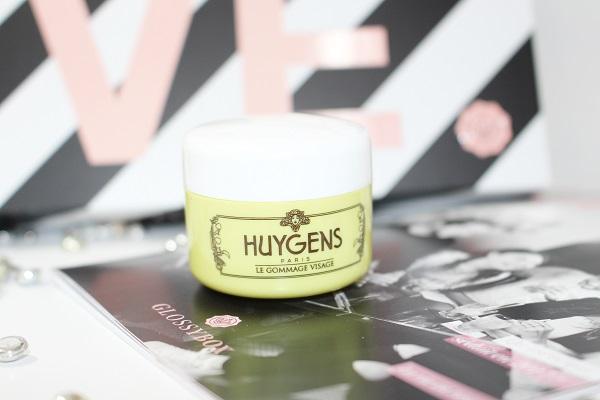 glossy box huygens gommage visage