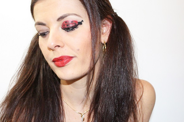 maquillage rouge monday shadow challenge