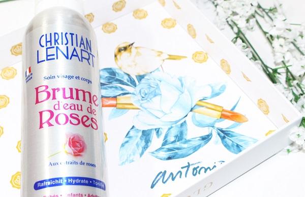 brume d'eau de roses christian lenart