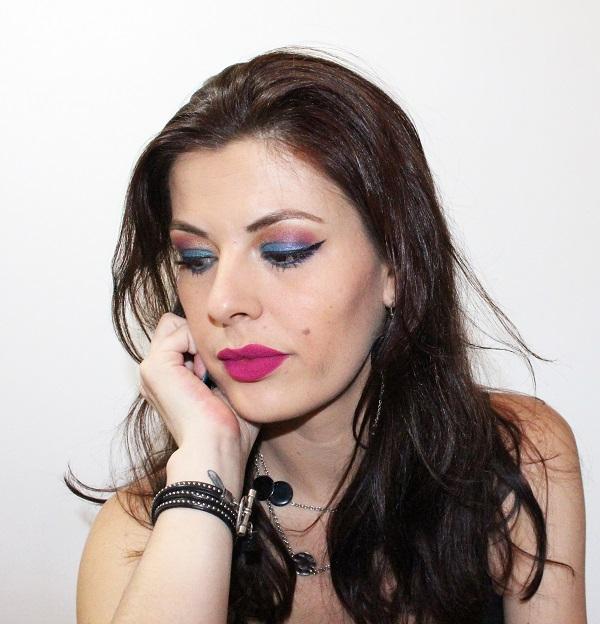 maquillage beauty defi rock
