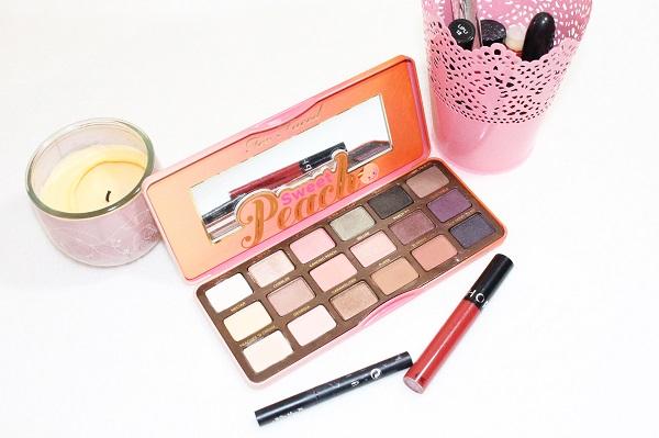 maquillage palette sweet peach