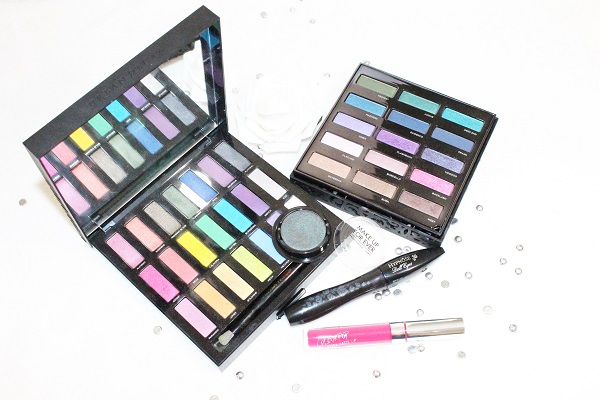 palettes maquillage peacock