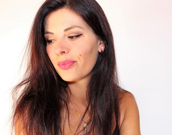maquillage bronze caramel melange