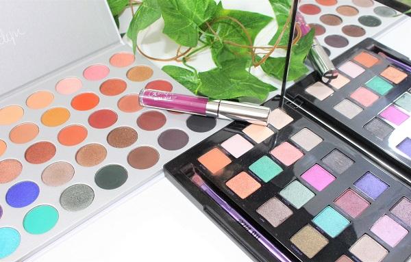 maquillage palettes msc
