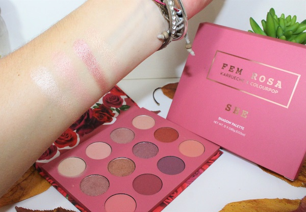 swatch SHE palette colour pop 1