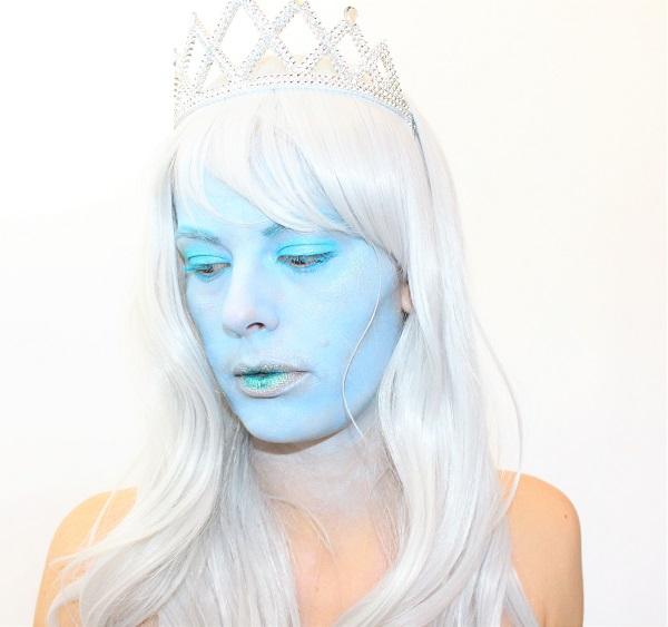 art freak show maquillage reine des glaces