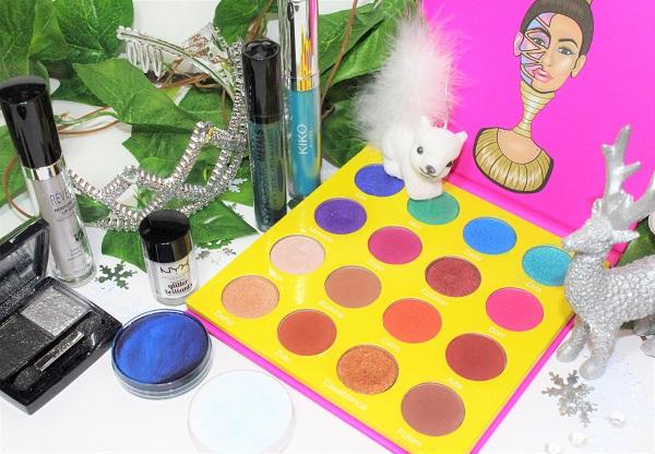 maquillage palette et fard