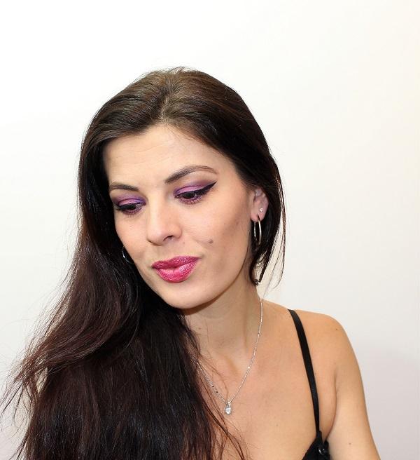 maquillage violet msc