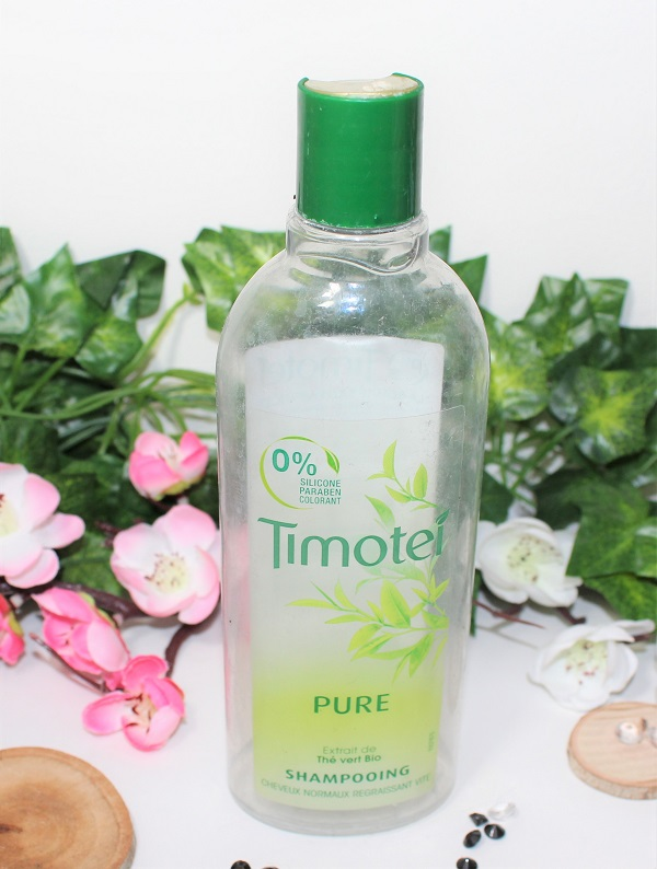 shampoing timotei pure