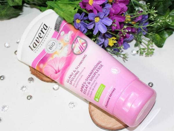 apres shampoing eclat et souplesse lavera