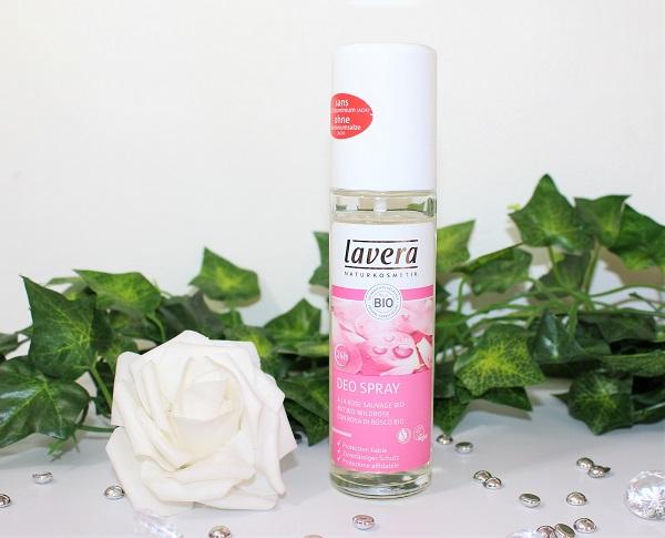 Deodorant bio à la rose sauvage lavera