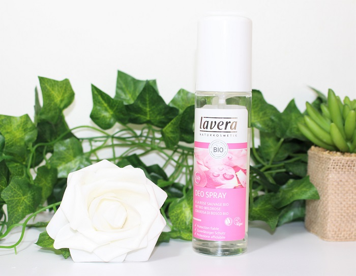 lavera deodorant bio spray rose