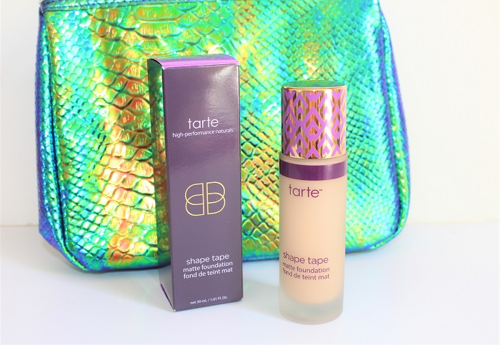 Shape tape matte foundation Light Medium Neutral tarte cosmetics