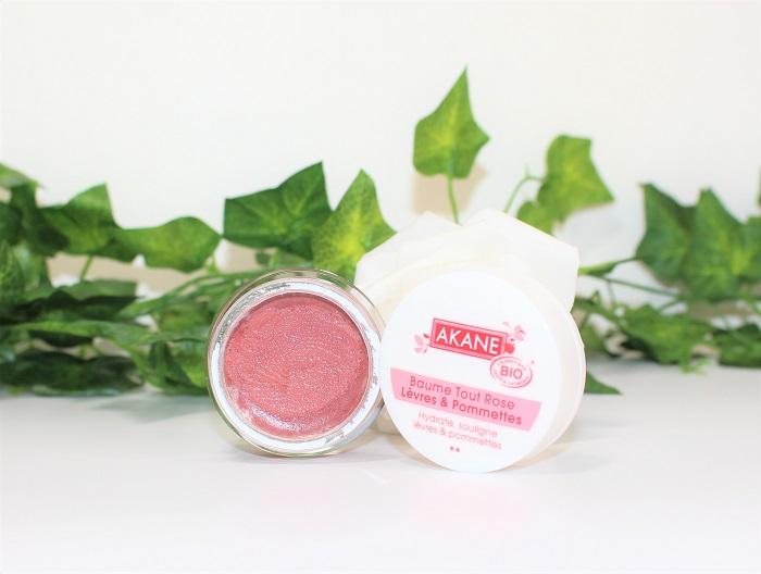 akane avis baume tout rose