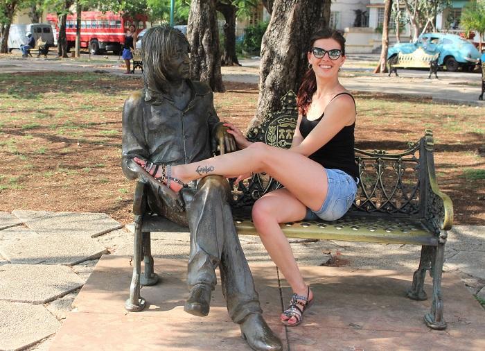 Cuba statut john lennon - Que faire a la havane