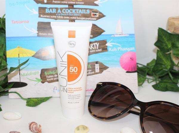 crème solaire Haute Protection SPF 50 DN Unik biotyfull box