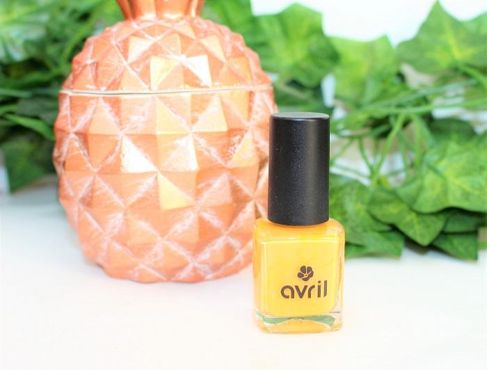 vernis à ongles naturel Avril Beauté